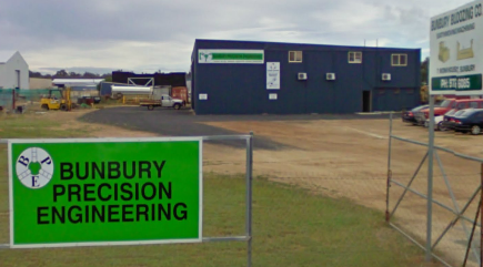 Bunbury Precicion Engineering Street View